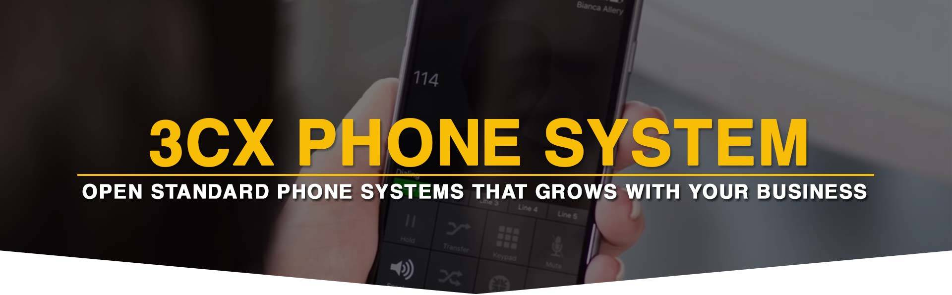 3CX Phone Systems | Dimension Systems Inc